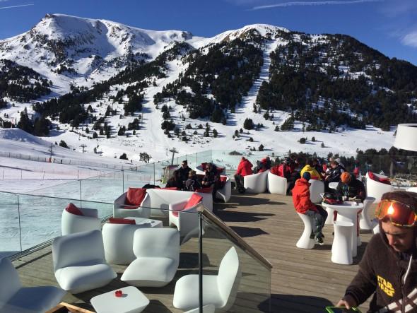 Andorra lunch